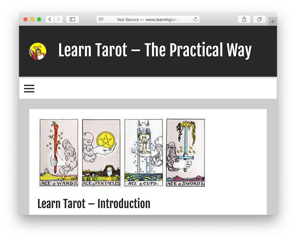 learning tarot dot net