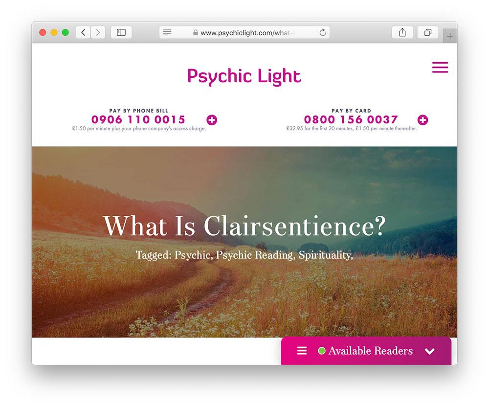 psychic light