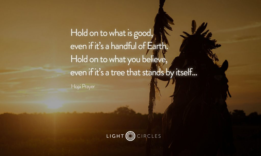 hold on to what is good prayer