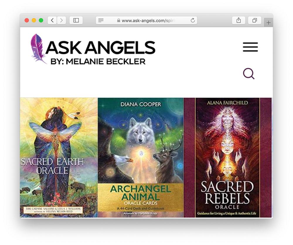 ask angels melanie beckler