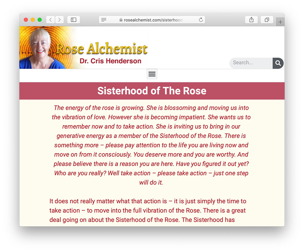 rose alchemist